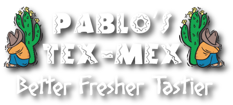 Pablos Tex Mex where locals love to meet logo